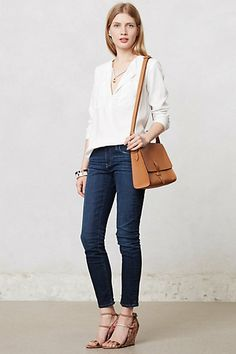 Pilcro Stet Slim Ankle Jeans #anthropologie $118.00