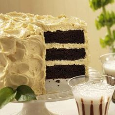 Malted Chocolate & Stout Layer Cake Recipe from Taste of Home