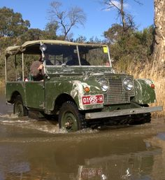 Land Rover 86 Serie One soft top 01958 H before