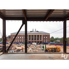 Construction Update: the new science hall is taking shape!