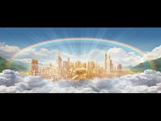New Jerusalem: The Eternal Home Of Raptured And Resurrected Saints. Are You Perpetually Ready For The Glorious Flight Into New Jerusalem On Rapture Day? Lord And Savior, My Lord, New Jerusalem, Revelation 21, Jesus Pictures, Heaven Pictures, Church Pictures, Lds Church, New Earth