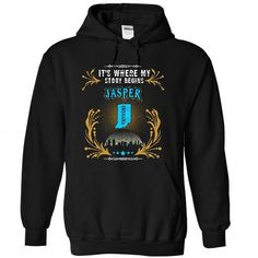Jasper - Indiana is Where Your Story Begins 2103 - #birthday gift #wedding gift. GET YOURS => https://www.sunfrog.com/States/Jasper--Indiana-is-Where-Your-Story-Begins-2103-7264-Black-31736556-Hoodie.html?68278