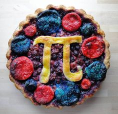 Blueberry Cherry Pi Pie. Most Photogenic winner of Serious Eats Pie Contest 2010.