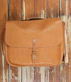 Mailman Bag Natural Leather | Up There Store