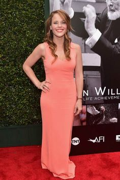 Katie Leclerc at the 44th Life Achievement Award Gala Tribute in June 2016...