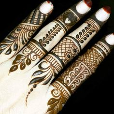 Hello ladies, I am asking about mehndi designs. the mehndi designs are all over the girls like. first I tell you the mehndi designs for fingers. The mehndi designs are more certainly one of the beautiful things for increasing the beauty for your fingers. Finger Henna Designs, Mehndi Designs For Girls, Modern Mehndi Designs, Dulhan Mehndi Designs, Mehndi Designs For Fingers, Wedding Mehndi Designs, Mehndi Design Pictures, Beautiful Mehndi Design, Simple Mehndi Designs