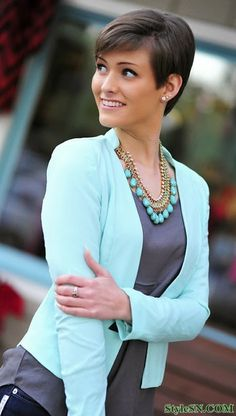 Short Pixie Hairstyles For Women 2014 | StyleSN
