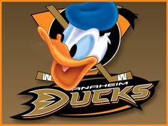 What If Disney Designed Every Sports Team's Logo? Anaheim Ducks