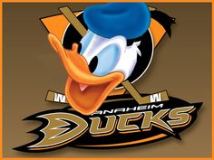 What If Disney Designed Every Sports Team's Logo? Anaheim Ducks