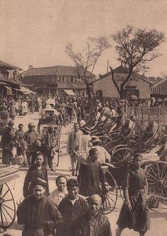 上海菜市场 1900s Shanghai Market