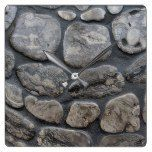 Michigan petoskey stone background square wall clock  #Background #Clock #MICHIGAN #petoskey #RusticClock #Square #Stone #Wall The Rustic Clock