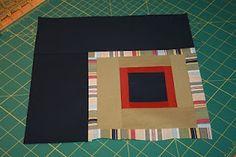 Shiner's view ...: Tutorial ... Corner Block quilt