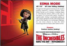 Edna Mode Edna E Mode, Walt Disney Orlando, Top Supermodels, Disney Queens, Disney Divas, Disney Food, Disney Recipes, Comic Con Cosplay, Magic Bands