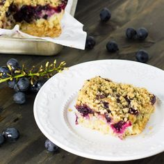 Concord Grape Crumb Cake   Travel Cook Tell