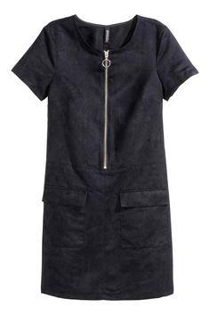 Платье из искусственной замши | H&M
