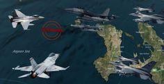 Με μισή Ντουζίνα Τούρκικα F-16 τα έβαλαν δυο απο τους  Κεραυνούς της 330 Μ!