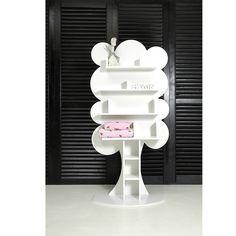 Boomkast Teddy met witte schapjes. Leuk voor op een kinderkamer of babykamer! Ook verkrijgbaar in andere kleuren. Meld u nu aan voor onze nieuwsbrief via onze website en ontvang 15 euro korting op uw eerste aankoop!