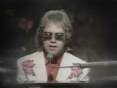 """Elton John """"Your Song"""" '71 clip"""