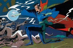 Doctor Strange from Marvel Fanfare #45  - Kevin Nowlan