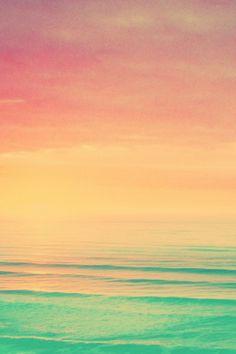 Jamaican sea and sky