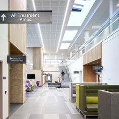 The Beatson, Monklands Hospital. Keppie Design. Image © David Cadzow