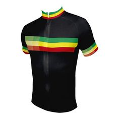 Rasta Men's Cycling Jersey - Front View - http://www.cyclegarb.com/rasta-mens-cycling-jersey.html