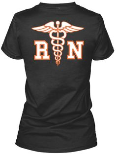 R N Black Women's T-Shirt Back