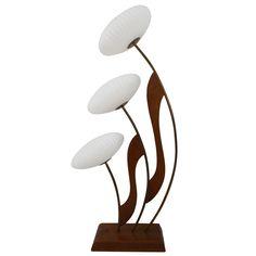 1stdibs mid century table lamp beautiful mid century modern danish style teak