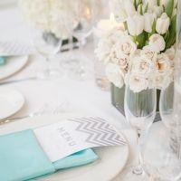 Tiffany Blue Beach Wedding