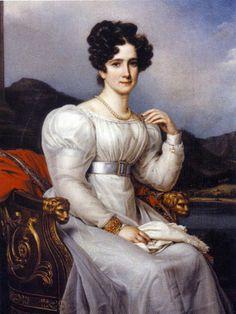 Frederica of Baden, Queen of Sweden , 1810 by Karl Stieler