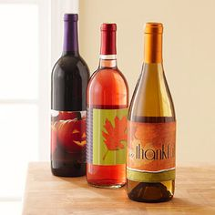 FREE Wine Labels For Fall And Thanksgiving Celebrations (GREAT GIFT IDEA) Better Homes & Gardens