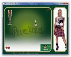 Pilsner Urquell Game | Pilsner Urquell Game Download Play Online, Online Games, Beer Girl, Health Fitness, Knowledge, Sciatica, Playboy, David, Music