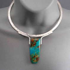 Wolfgang Vaatz, Painting, sculpture, & jewelry are available at Rogoway Turquoise Tortoise Gallery. Rogoway Turquoise Tortoise also carries glass art. I Love Jewelry, Modern Jewelry, Stone Jewelry, Metal Jewelry, Pendant Jewelry, Vintage Jewelry, Jewelry Necklaces, Jewelry Making, Jewelry Crafts