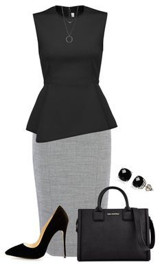 Dress your Bestie by cris-1121 on Polyvore featuring polyvore, fashion, style, Alexander Wang, Karl Lagerfeld, Belk & Co., Botkier, clothing, classy, BusinessWoman and greatcurves