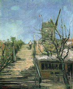 Windmill On Montmartre Vincent Van Gogh Reproduction | 1st Art Gallery