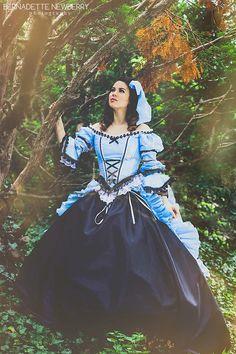Mad Alice...Alice in Wonderland Fantasy Set with Bloomers Custom http://www.romanticthreads.com