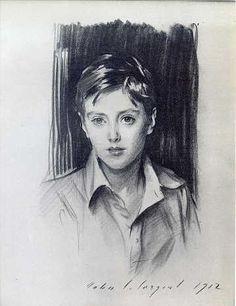 """""""Lord Buckhurst""""  John Singer Sargent"""