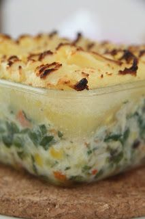 Yummy dairy free weaning recipe for fish pie. Perfect supper for your little one, and freezes beautifully for a nutritious baby ready meal! #CMPA