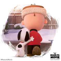 Best friends are always there for you. Take your best friend to see Charlie Brown, Snoopy and the whole gang in The Peanuts Movie, now playing!