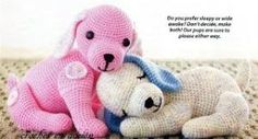 FREE Puppy Dog Amigurumi Crochet Pattern and Tutorial by esther