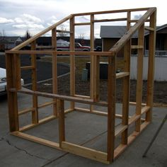 Have you ever thought about getting a greenhouse? How about building one? Fab gardener Dana shows us how! {Pin This} This winter, I decided that I wanted to try to build a greenhouse for our garden… #howtobuildagardenshed