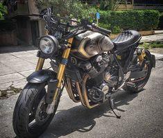 Xjr, Sons Of Anarchy, Yamaha, Motorcycles, Bike, Coat, Instagram, Ideas, Motorbikes