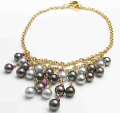 Assael Tahitian Pearl Necklace – Deleuse Fine Jewelry & Couture