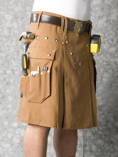Why wear a utility belt over your kilt when you can just wear a Utilikilt.