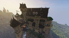 Templar Castle Build! #WeAreConquest Minecraft Project