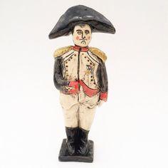 Napoleon Bonaparte whimsical ceramic miniature figure by artknacky