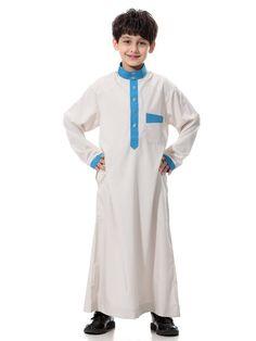 611a40c9dcb High quality Muslim Islamic Clothing for Children Arabia Jubba Thobe plus  size dubai boy s Kaftan Abaya