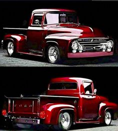 Chevy trucks aficionados are not just after the newer trucks built by Chevrolet. They are also into oldies but goodies trucks that have been magnificently preserved for long years. Pickup Trucks, Pickup Auto, Old Ford Trucks, Old Pickup, Lifted Trucks, Lifted Ford, Diesel Trucks, Ford Diesel, Jeep Pickup