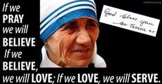 Blessed Mother Teresa quotes