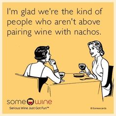 Omg. My two favorite things- wine and queso #WineMemes